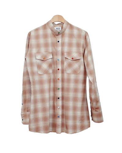 OMBRE WESTERN SHIRT 001