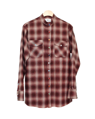 OMBRE WESTERN SHIRT 002