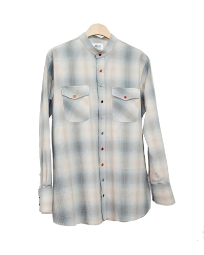 OMBRE WESTERN SHIRT 003 (JAPANESE FABRIC)