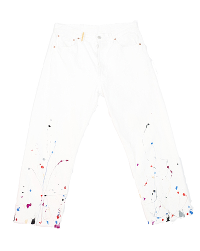 PAINTED JEANS 001
