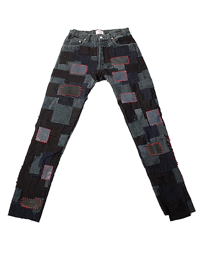 CRUST PANTS BLACK 001