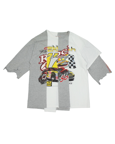 MIXED 90'S RACING CAR T-SHIRT