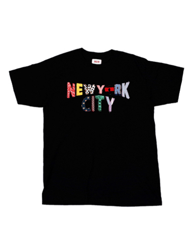 NEW YORK CITY PATCHWORK VER.(BLK)