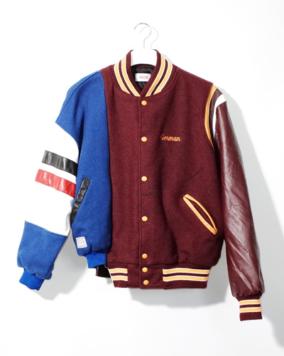 MIXED VARSITY JACKET 001