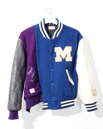 MIXED VARSITY JACKET 003